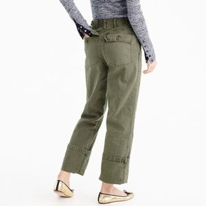 J Crew The 2011 Foundry Pant Army Green